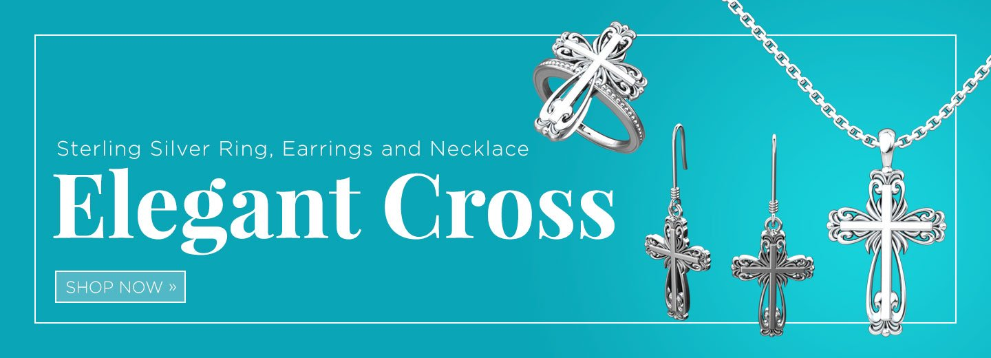Logos Trading Post - Elegant Cross Jewelry
