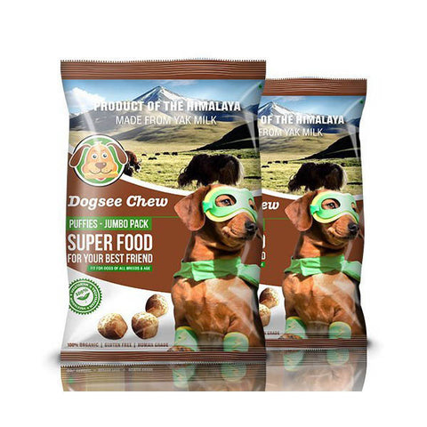 Dogseechew - Jumbo Puffies 200gm