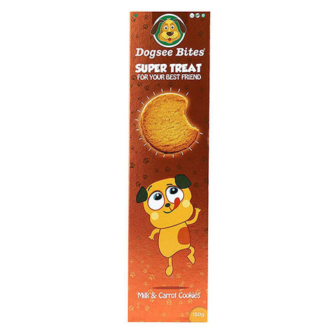 Dogsee Bites Milk & Carrot 75gm