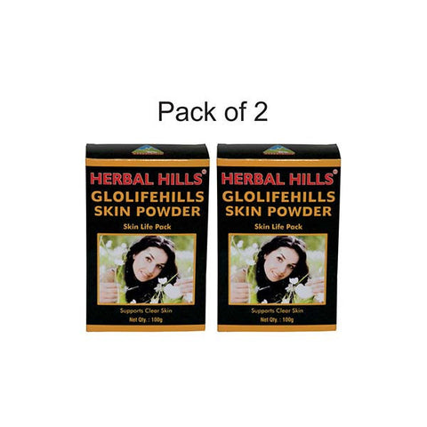 Glolifehills Skin Powder - 100 gms (Pack of 2)
