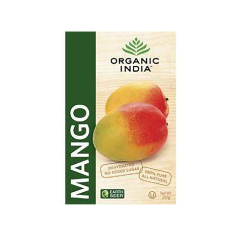 Organic India Dehydrated Mango Slices