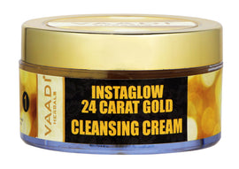 24 Carat Gold Cleansing Cream - Marigold Oil & Wheatgerm Oil