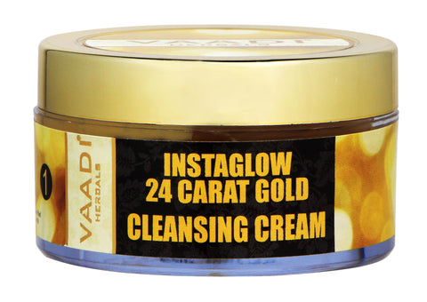 Instaglow 24 Carat Gold Cleansing Cream
