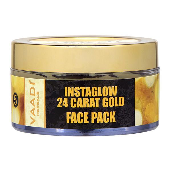 24 Carat Gold Face Pack - Vitamin-E & Lemon Peel