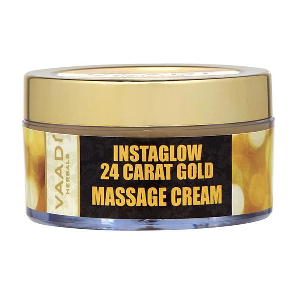 24 Carat Gold Massage Cream - Kokum Butter & Wheatgerm Oil