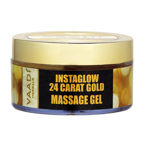 24 Carat Gold Massage Gel - 24 carat Gold Dust & Grape Seed Extract
