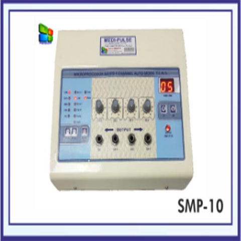 Auto Mode TENS Machine 4 Ch.