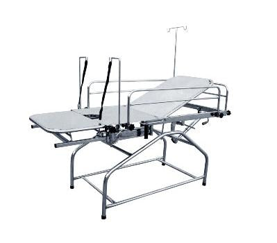"Backrest Gynac / Labour Table   ( 72"" x 27"" x 31"" ) with Total Stainless Steel"