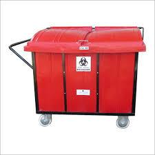 Bio West Collect Trolley - 2 Drum Stainless Steel