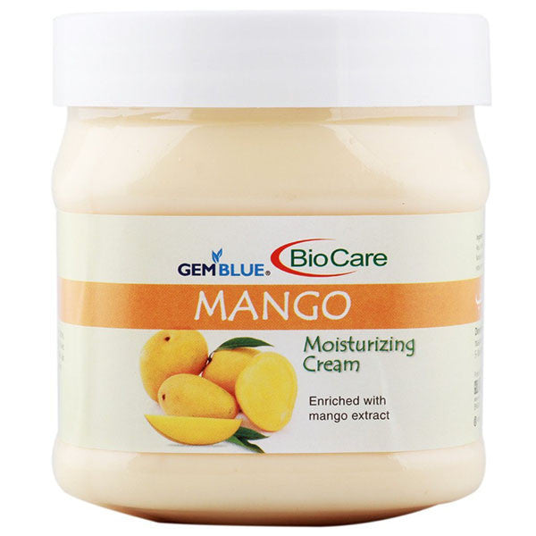 Biocare Gemblue MANGO Moisturizing Cream, 500ml