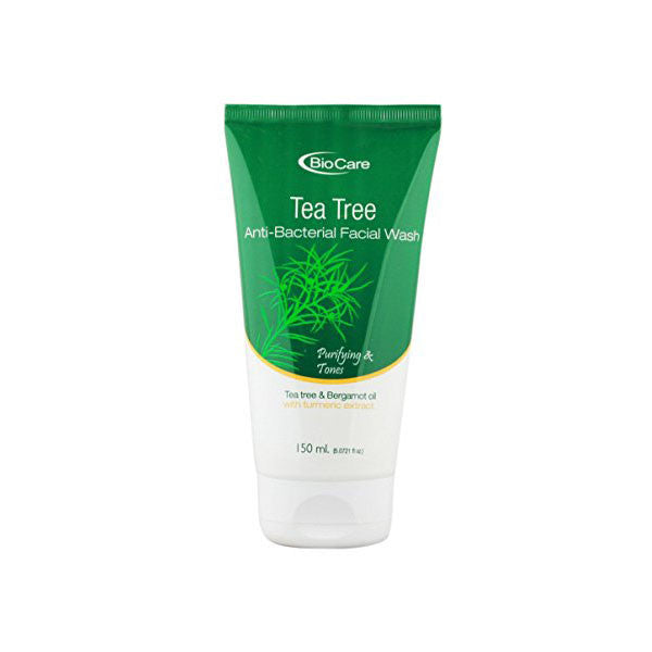 Biocare TEA TREE Anti-Bacterial Facial Wash, 150ml