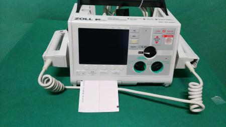 Biphasic DEFIBRILLATOR with ECG and Printer