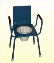 Commodes Stool-Folding Small M.S. Top 14×14
