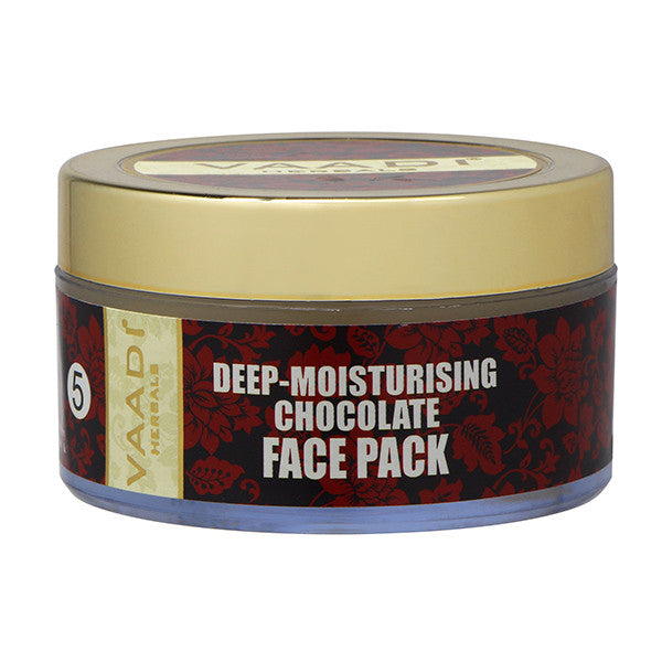 Deep-Moisturising Chocolate Face Pack