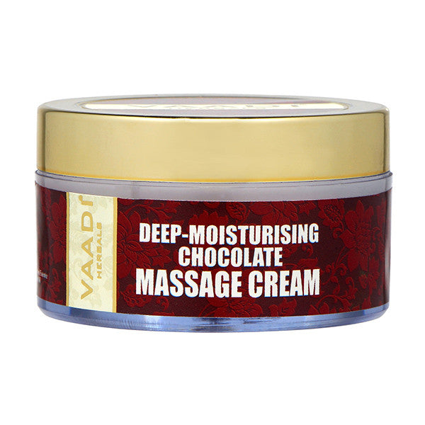Deep-Moisturising Chocolate Massage Cream