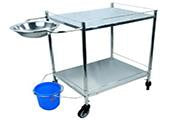Dressing Trolley - Big ( 21 x 27 ) Stainless Steel
