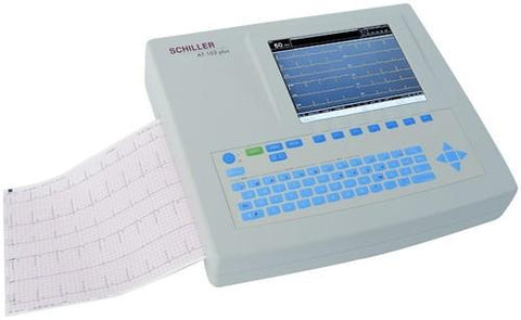 ECG Twelve Channel with Touch Screen & A4 size printer