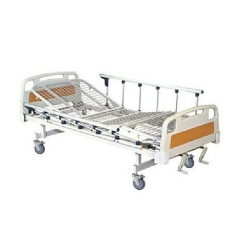 Full Fowler Cot With Abs Panel with Wheels and Side Railing Imported (SSI-3020W)