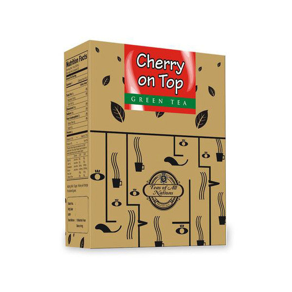 Green Tea - Cherry on Top  - Pack of 2