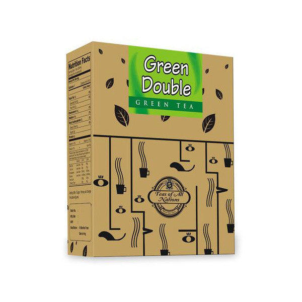 Green Tea - Green Double - Tulsi Flakes - Pack of 2