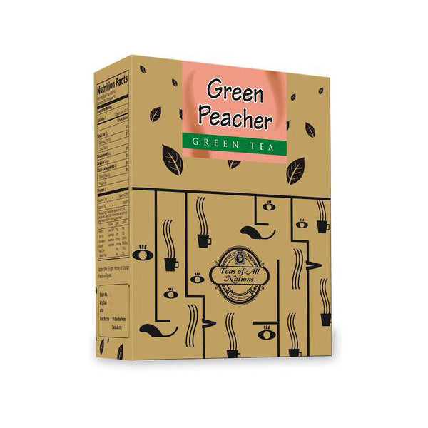 Green Tea - Green Peacher  - Pack of 2