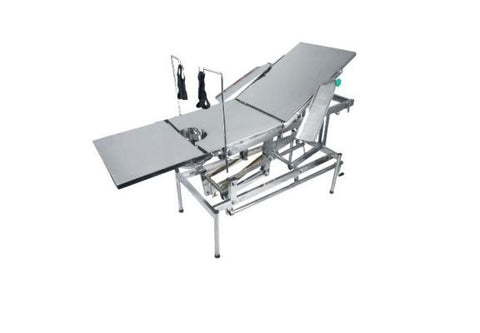 "Height Adjustable Operation Table ( 72"" x 21"" x 25"" - 32"") with Total Stainless Steel"