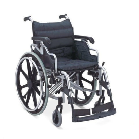 INVALID FS950LBPQ WHEELCHAIR FLD ALM DTC ARM REST & FOOT RE
