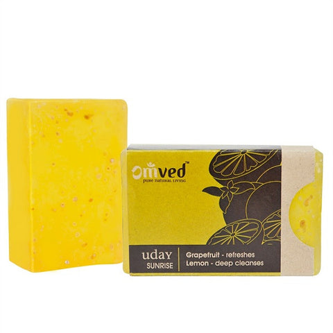Omved Uday Grapefruit Lemon Soap