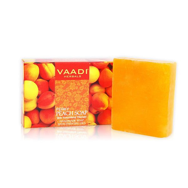 PERKY PEACH SOAP with Almond Oil