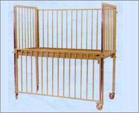 Pediatric Cot with Drop Side Railing