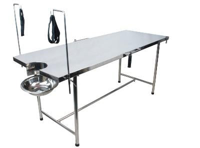 "Plain Delivery Table   (72"" x 27"" x 31"") with Total Stainless Steel"