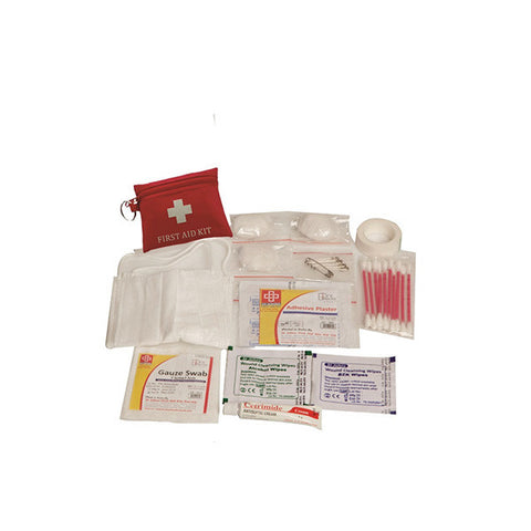 Travel First Aid Kit Small - Pouch - 23 Components SJF T1 - St Johns First Aid Kit