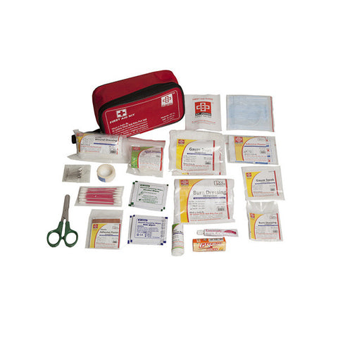 Travel First Aid Kit Medium - Nylon Pouch -63 Components - SJF T3 - St Johns First Aid Kit