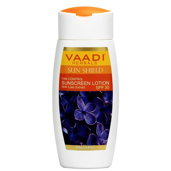SUNSCREEN LOTION WITH LILAC EXTRACT - SPF 30
