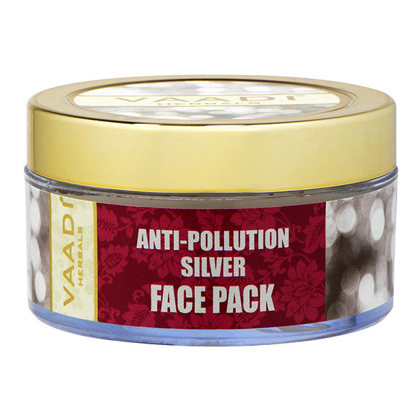 Silver Face Pack - Pure Silver Dust & Lavender Oil
