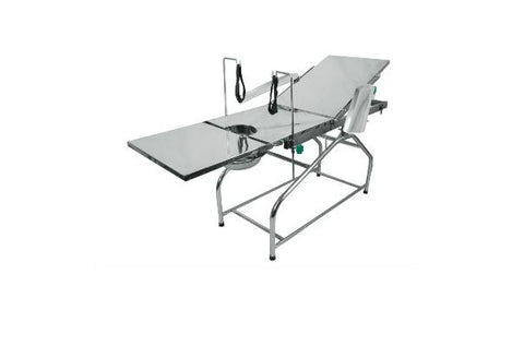 "Simple Operation Table (72"" x 21"" x 32"" ) with Total stainless Steel."