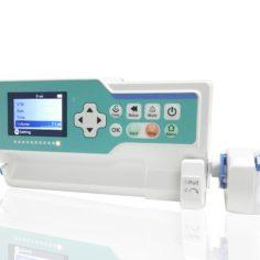 Syringe Pump (With Touch screen, 7 Infusion modes and Drug Library)