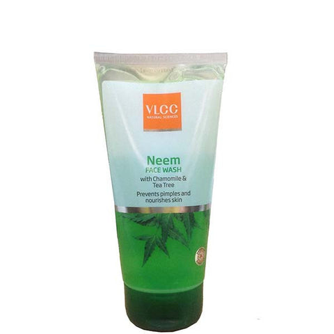 VLCC NEEM FACE WASH WITH CHAMOMILE & TEA TREE
