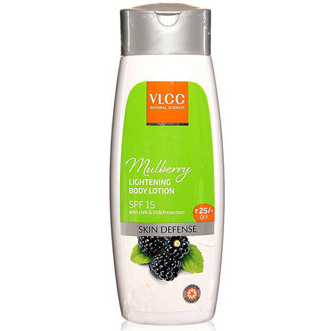 VLCC Natural Sciences Mulberry Lightening Body Lotion SPF 15 200ml