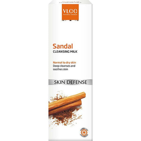VLCC Sandal Cleansing Milk, 100ml