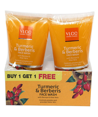 Vlcc Turmeric & Berberis Facewash 150ml B1g1