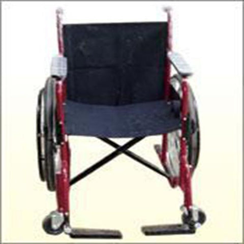 Wheel Chair Painted with Breaks-4 Inches Wheels.