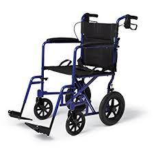 Wheel Chair-with 6 Inches Wheels-Powder Coated