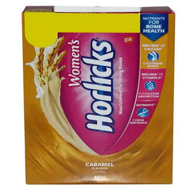 Women horlicks caramel bib powder 400gm