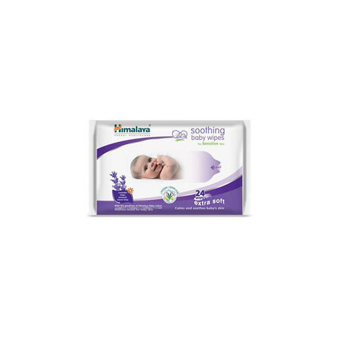 Himalaya Soothing Baby Wipes 24s