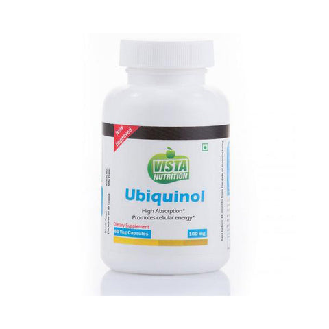 vista nutrition ubiquinol 100 mg - 60 vegicapsules