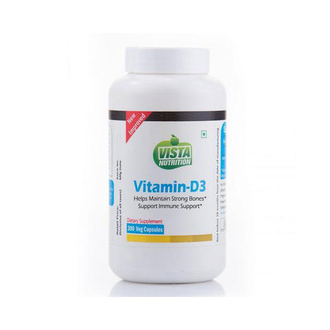 vista nutrition vitamin-d3 - 300 capsules