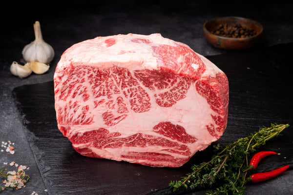 Chuck Roll Steak AUS AACO 3+ Wagyu F1 Crossbred