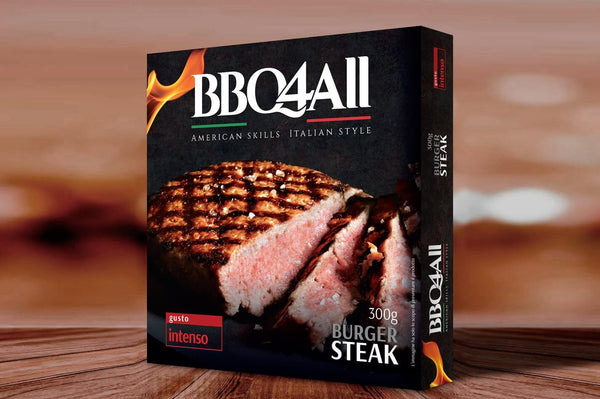 BBQ4All Burger Steak 300g