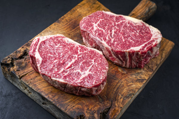 Ribeye Steak AUS Crimson Crest 3+ Wagyu F1 Crossbred